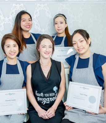 Salon images Sugaring Certificate with Brienne